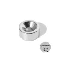 Ø D10 -7/3,5-h5 магнит потай кольцо