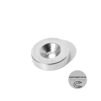 Ø D12 -7/3-H3 магнит потай кольцо
