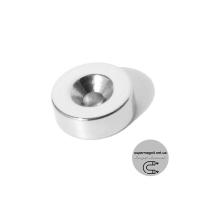 Ø D14 -7/3,5-H5 магнит потай кольцо