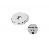 Ø D15 -7,5/4,5-H3 магнит потай кольцо