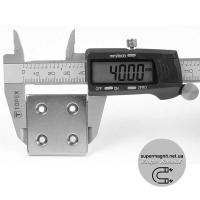 40 -40- 7/3,5-h4 магнит потай (4 отвер)