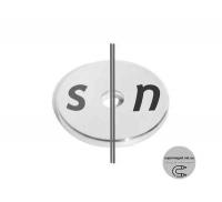 Кольца Ø D30 -6-3 мм диаметральной намагниченостью