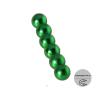 Магнит шар D 5мм (комплект 6шт) зеленый