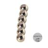 Магнит шар D 5мм (комплект 6шт) серебро